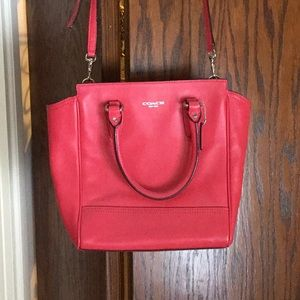 Small Coach Bag with Crossbody Strap